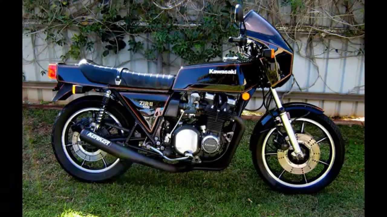 Kawasaki Z1R MK2...1980 D3, restoration... - YouTube