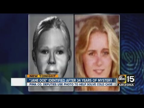 """""""Jane Doe"""" identified after 34 years of mystery"""