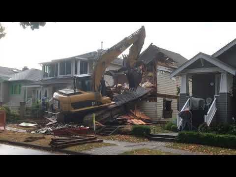 House demolition part 1