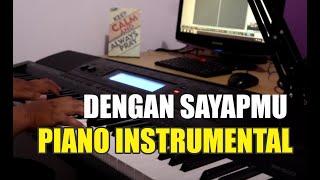 Piano Cover Dengan sayapMu - Sari Simorangkir Intstrumental piano dan lirik