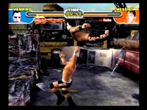Review  Backyard Wrestling 2 There Goes The Neighborhood PS2  YouTube