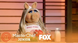 Gordon Asks Miss Piggy To Shake The Sauce | Season 5 Ep. 12 | MASTERCHEF JUNIOR