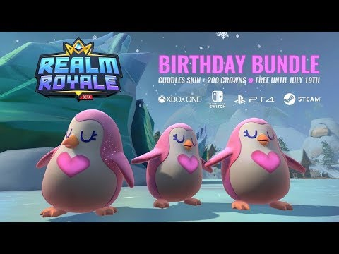 Realm Royale - Get the Free Birthday Bundle! (Now - July 19th)