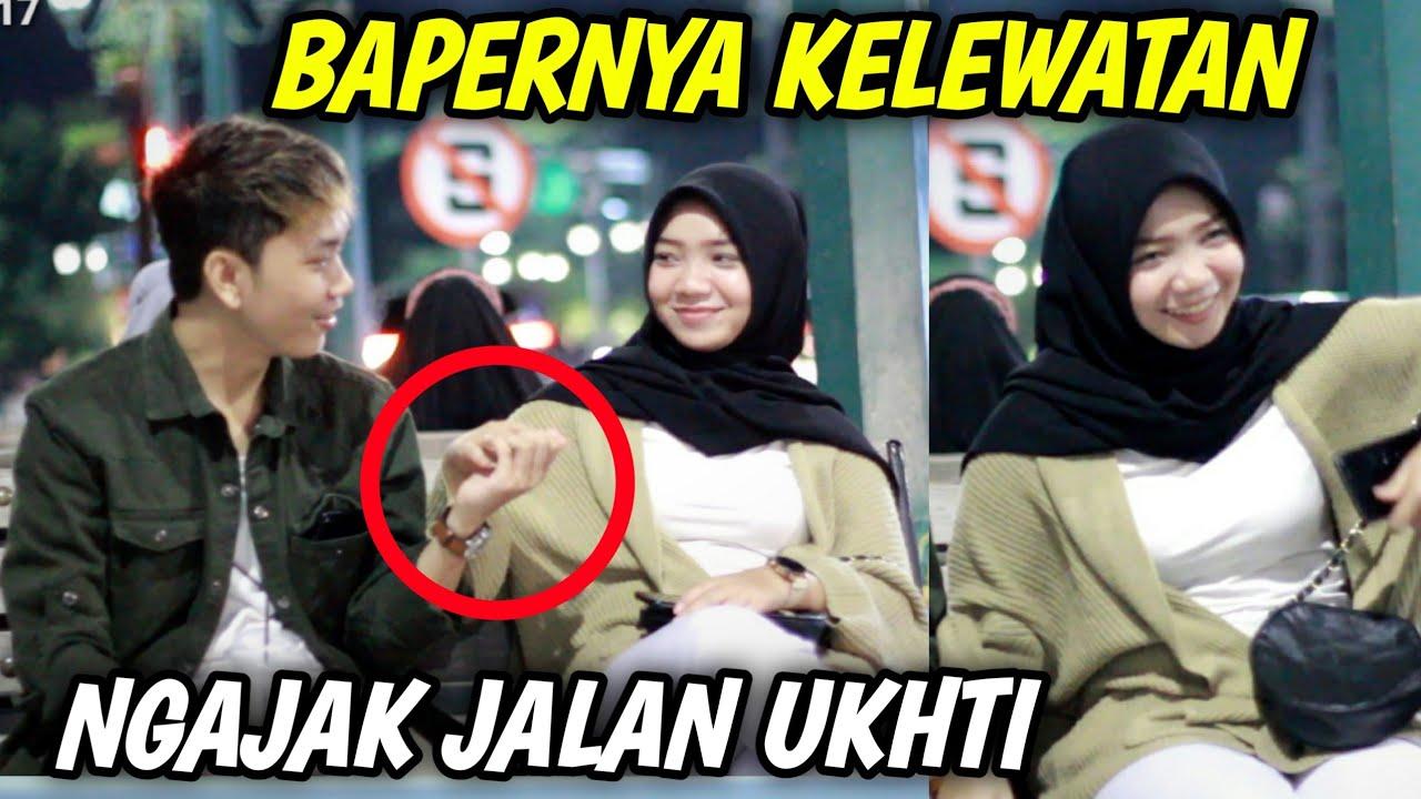 PRANK BAPERIN UKHTI CANTIK ! MALAH DI GOMBALIN BALIK