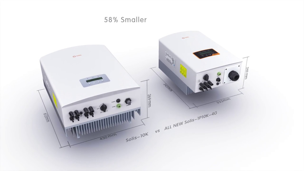 Solis Global - Solis 4G Inverters, IEC Model for Non-US Market