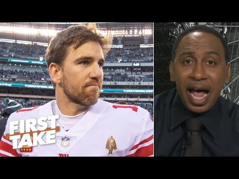 Landon Collins leaving the Giants reveals how privileged Eli Manning is - Stephen A.   First Take