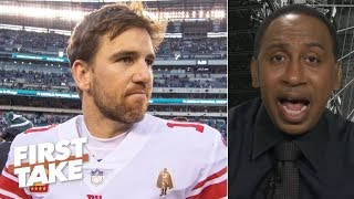 Landon Collins leaving the Giants reveals how privileged Eli Manning is - Stephen A. | First Take