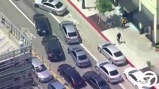 Looting in Santa Monica blocks away from Black Lives Matter protest