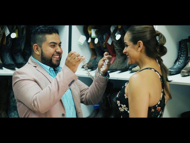 R Siete Norteño Banda - Nubes Negras (Video Oficial)