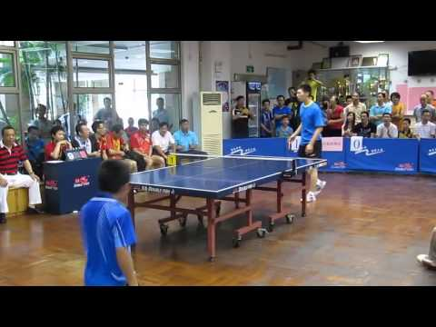 10- year-old boy amazing table tennis !!
