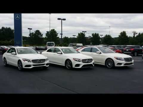 Comparing the Mercedes-Benz C-Class, 2017 E-Class and S-Class