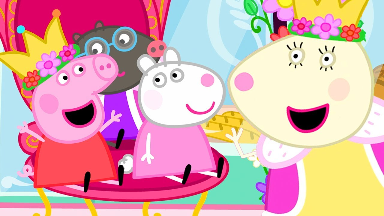 Peppa Pig Official Channel | Peppa Pig Dresses Up as a Queen at the Carnival
