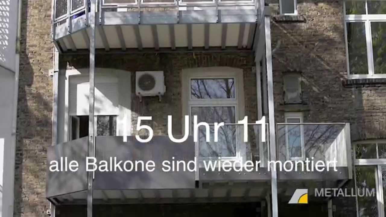 Balkon Aus Stahl   Einfach Mal Den Balkon Tauschen Von Metallum Gmbh Stahl Und