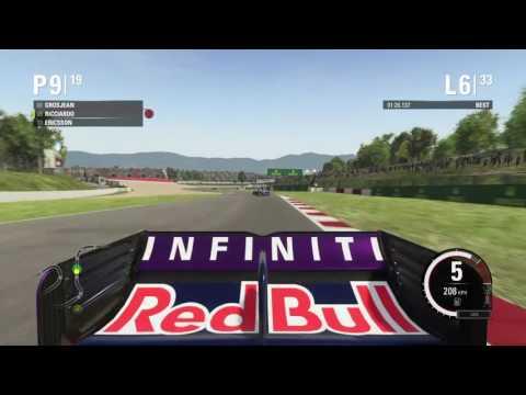 therealjojef gaming F1 race Barcelona