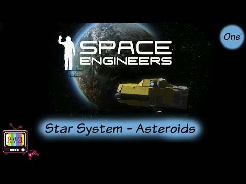 Space Engineers | Star System - Asteroids | Chapter One