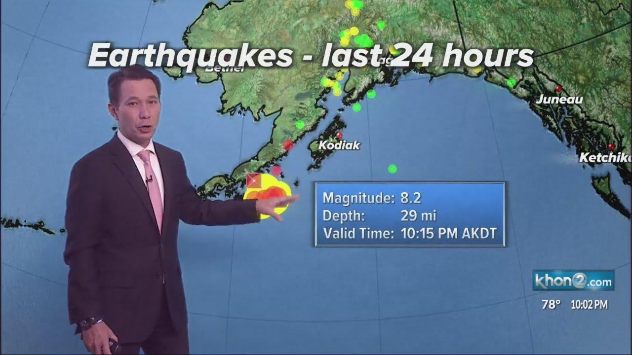 Tsunami watch canceled for Hawaii