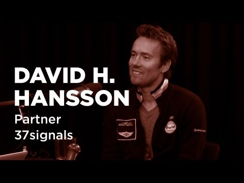 - Startups - David H. Hansson, Partner at 37signals -TWiST #E337