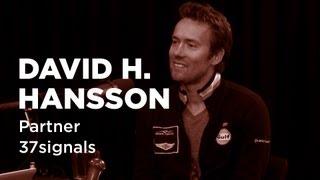 - Startups - David H. Hansson, Partner at 37signals -TWiST #E337