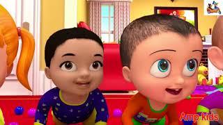 Little Babies SURPRISE | Children Songs | 3D Baby Nursery Rhyme & Kids Song