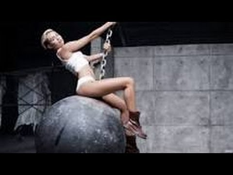 Miley Cyrus wrecking ball official video