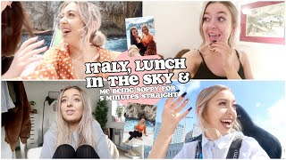 ITALY, LUNCH IN THE SKY & ME BEING SOPPY FOR 7 MINUTES STRAIGHT