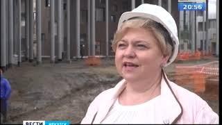 Под Иркутском завершается строительство современного образовательного центра