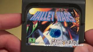 Classic Game Room - HALLEY WARS review for Game Gear