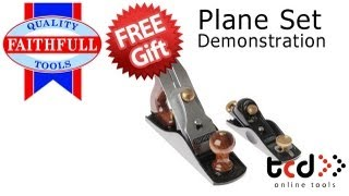Faithfull Twin Plane Set - Block Plane - Xms12planes