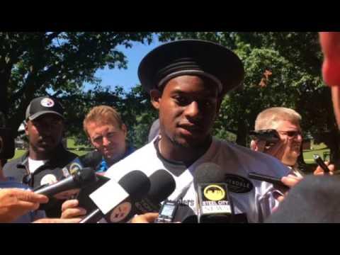 Steelers camp: JuJu Smith-Schuster talks about Joshua Dobbs