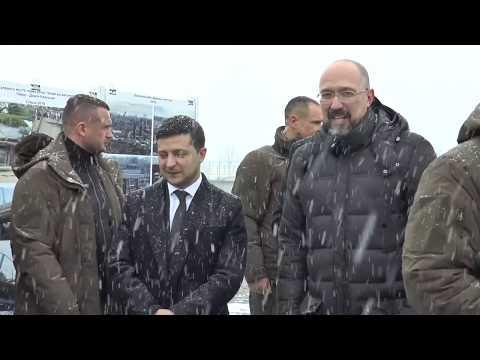 Акцент дня. Приїзд президента України на Прикарпаття