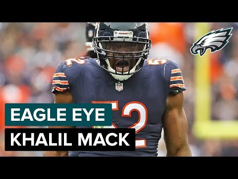 How Lane Johnson & the Offensive Line Will Try To Contain Khalil Mack   Eagle Eye