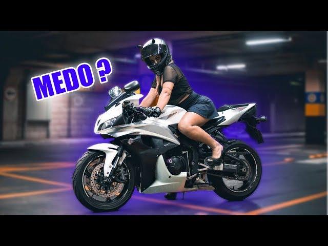 ANDAR SOZINHA COM A CBR600RR, ME DA MEDO?  - Thays Rx