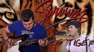 Eye Of The Tiger (Survivor Guitar, Bass & Piano cover) with Dave Bickler vocals