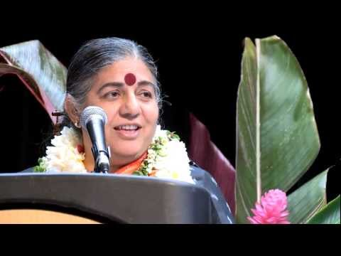 Vandana Shiva on GMO issues - University of Hawaii Jan 2013