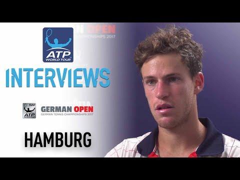 Interview: Schwartzman Fights Back On Wednesday In Hamburg 2017
