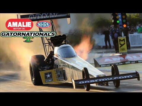 2017 NHRA Gatornationals | Top Fuel Eliminations
