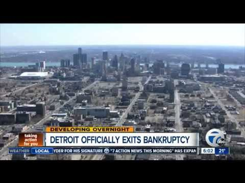 Detroit officially exits bankruptcy