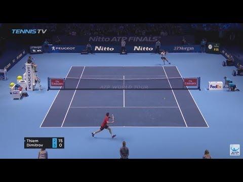 Nitto ATP Finals 2017 | Rafael Nadal vs David Goffin Highlights HD