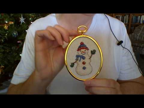 Dreamingstitcher flosstube #17 December 2017 - very special project