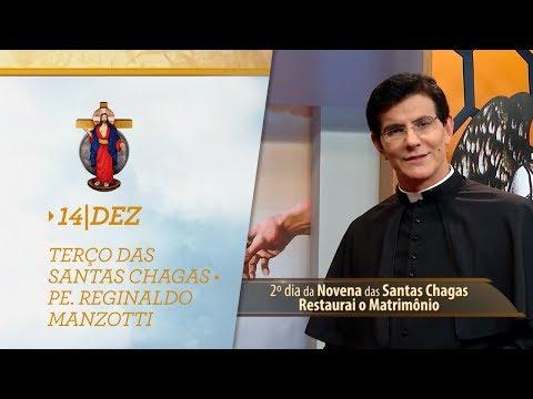 Terço das Santas Chagas   Padre Reginaldo Manzotti   14 de Dezembro de 2018