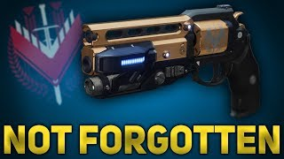 Not Forgotten Review - Legend Hand Cannon - Ranged Luna