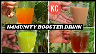 Immunity Booster Drink For Corona Virus | Kadha Recipe For Cold & Cough | KHUSHBOOCOOKS