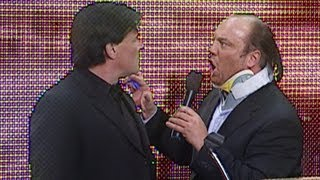 Raw selects Paul Heyman in the 2004 Draft: Raw, March 22, 2004
