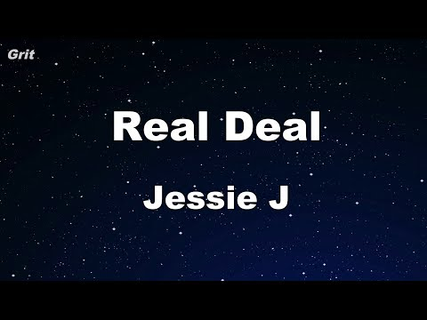 Real Deal - Jessie J Karaoke 【No Guide Melody】 Instrumental
