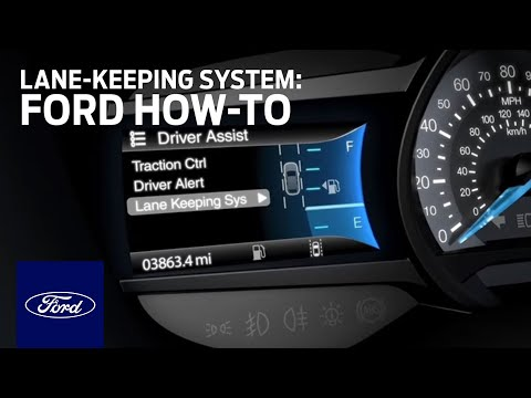Lane Keeping System: Programming │Ford How-To | Ford
