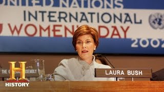 Laura Bush: Focused on Literacy and Education as First Lady - Fast Facts | History