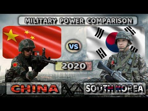 China Vs South Korea Military Power Comparison 2020