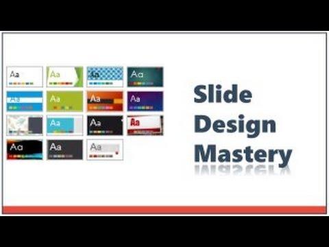 PowerPoint Slide Design Mastery - YouTube - power point slide designs