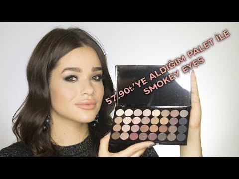 Uygun Fiyatlı Palet İle Smokey Eyes