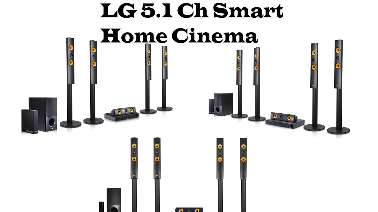 LG 5 1ch Smart Home Cinema LHB755W. Enjoy your favorite 3D
